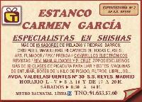 ESTANCO CARMEN GARCÍA en San Sebastián de los Reyes